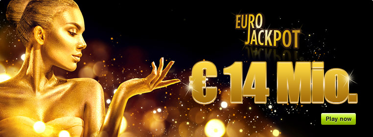 € 14 Million Jackpot with Eurojackpot