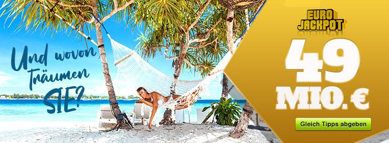 Eurojackpot - die Superlotterie! Jetzt bei lotto-jaxx.de mitspielen!