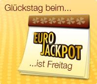 Eurojackpot bei JAXX - Zwei Ziehungen pro Woche