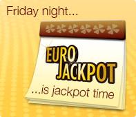 Eurojackpot - Jackpot on Friday