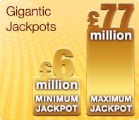 Eurojackpot - Gigantic jackpots
