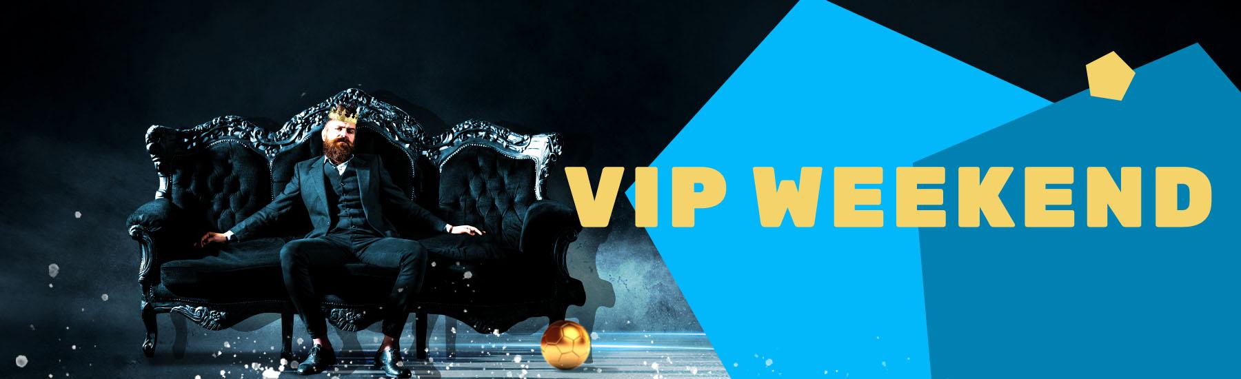 Bonus-Aktion: Einzahlbonus am VIP-Weekend   JAXX Sportwetten