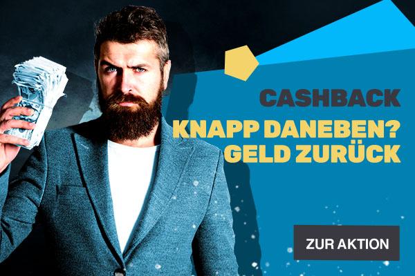 Cashback - Bonus-Aktion | JAXX Sportwetten