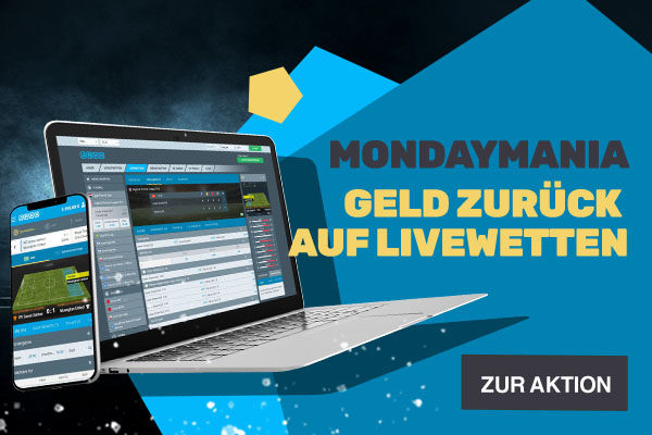 MondayMania - Bonus-Aktion | JAXX Sportwetten