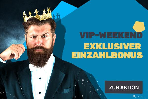 VIP-Weekend - Bonus-Aktion | JAXX Sportwetten